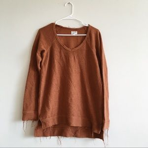RVCA// Medium Fray Rust Sweater